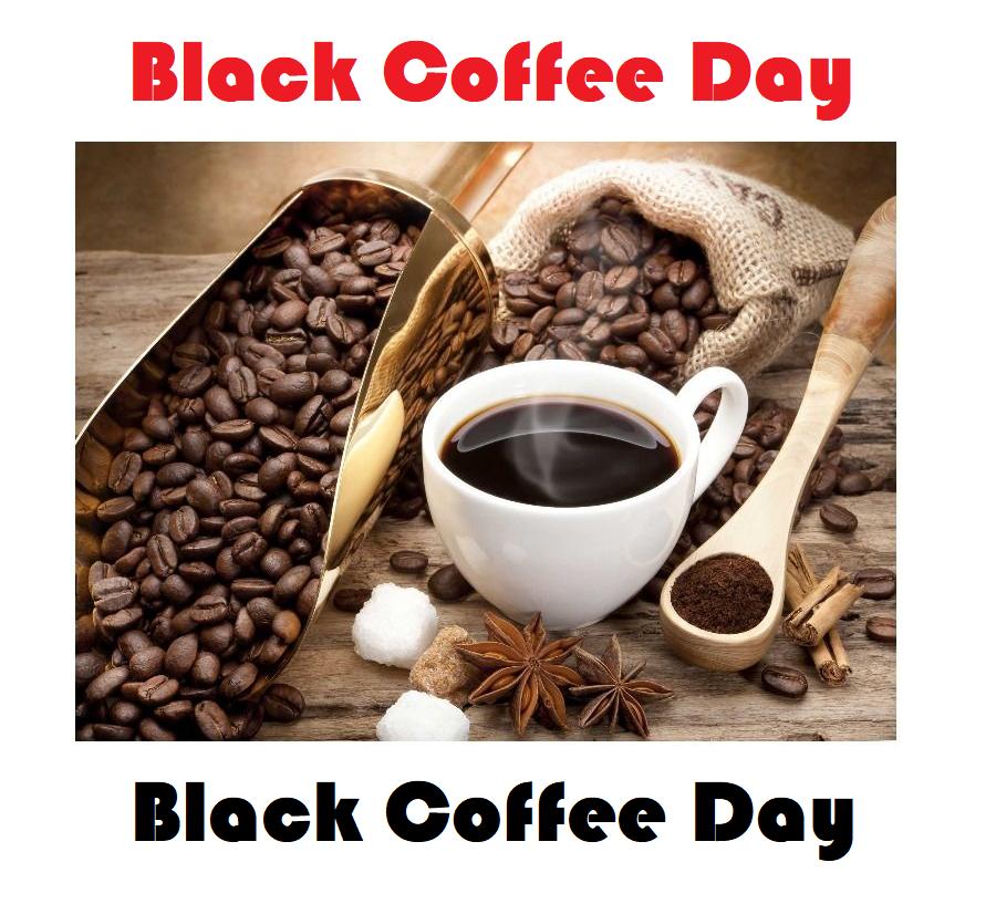 Black Firday : Black Coffee Day