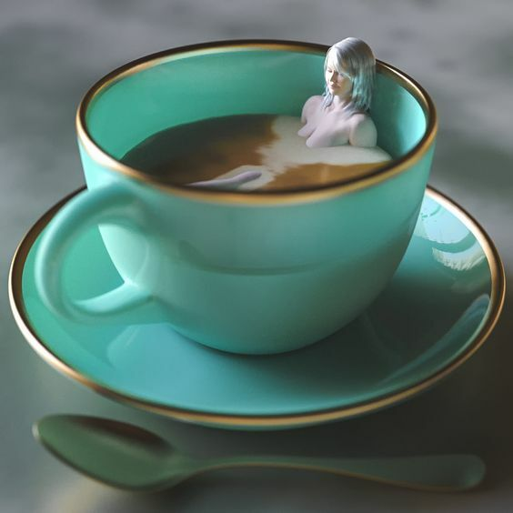 Reggel: a kávém més én