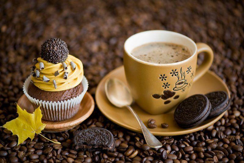 Kávé és süti. Mindig jöhet...