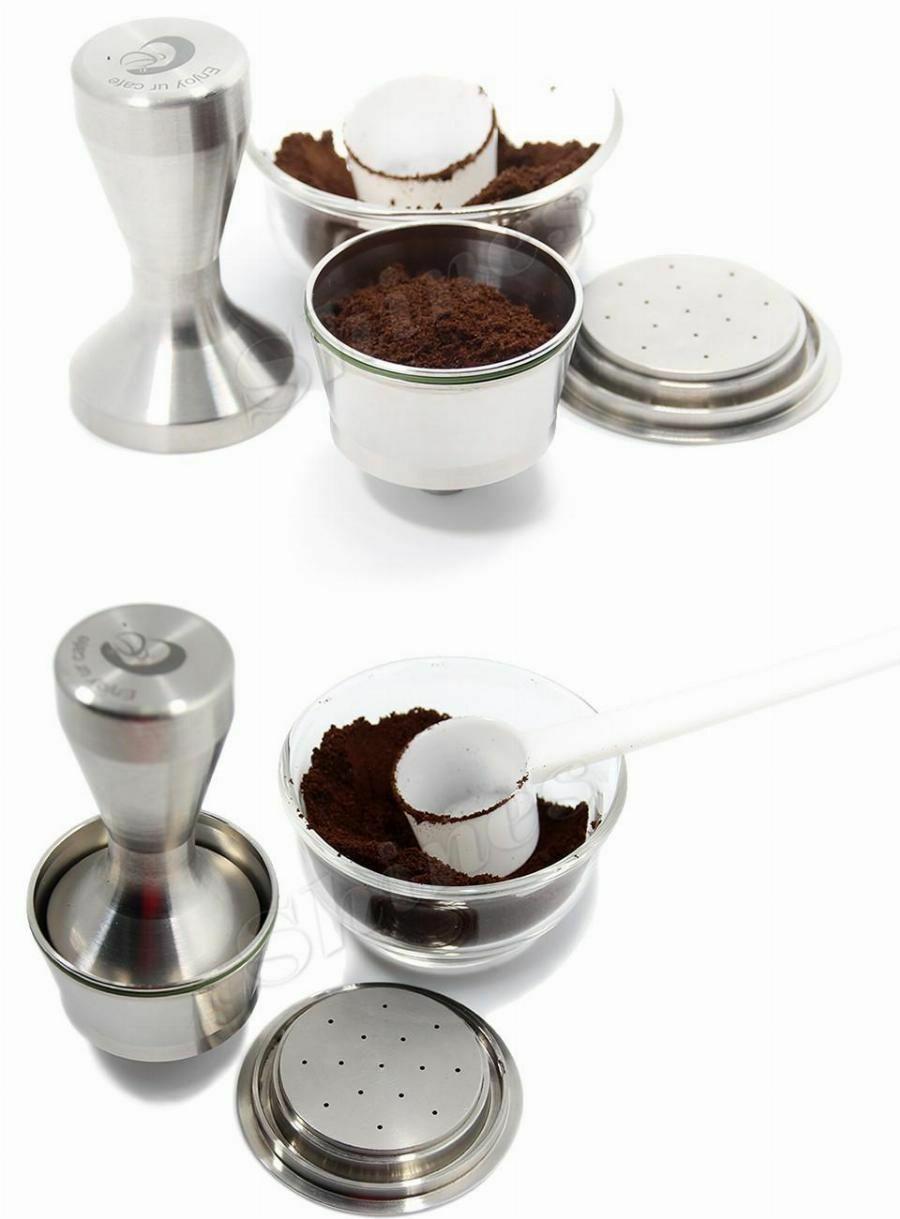 Nescafe Dolce Gusto kávékapszula szett tamper-el és adagolókanállal