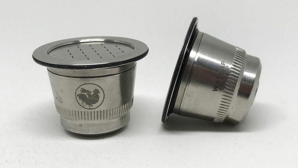 Nespresso kompatibilis újratölthető fém kávékapszula