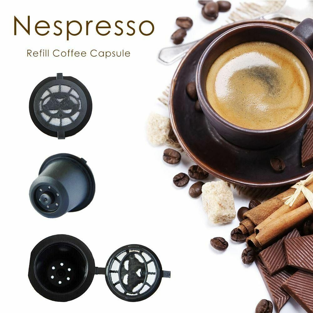 Nespresso kompatibilis újratölthető kávékapszula