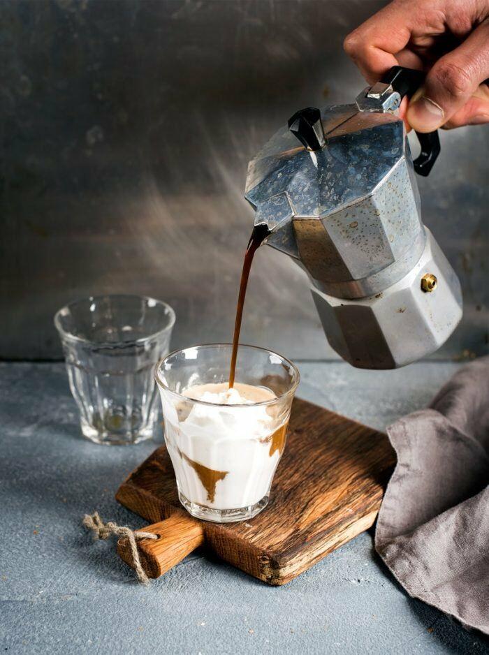 Kotyogós kávé - espresso alap készítéshez